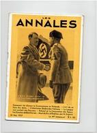 LES ANNALES Du 10 Mai 1937 Hitler Mussolini - Newspapers