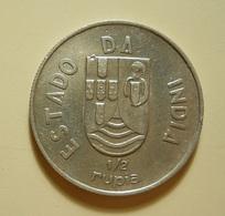Portugal India 1/2 Rupia 1936 Silver - Portugal