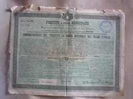 B 2173 - Scripofilia Prestito Duchessa Bevilacqua - Azioni & Titoli