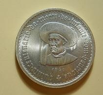 Portugal 10 Escudos 1960 Centenário Da Morte Do Infante Dom Henrique Silver - Portugal