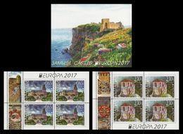 Bulgaria 2017 Mih. 5308DE/09DE Europa-Cept. Castles (booklet) MNH ** - Bulgaria