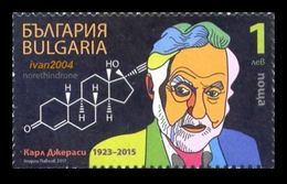 Bulgaria 2017 Mih. 5318 Chemist Carl Djerassi MNH ** - Ungebraucht