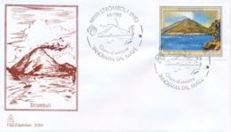 Italia 1985 FDC CAPITOLIUM Isola Vulcanica Di Stromboli Volcano - Vulcani