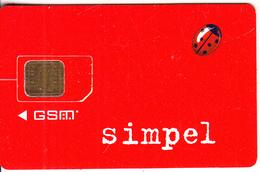 ESTONIA - Ladybird, Simpel By EMT GSM, Used - Estonia