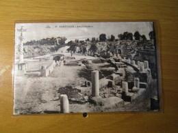 CARTOLINA TUNIS  1930 CARTHAGE AMPHITEATRE      - D 2870 - Tunisia