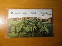 CARTOLINA  LEVANT  JAFFA AUSICHT VON DEN GARTEN AUS        D -2991 - Postales
