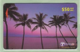 """Fiji - 2000 Dawn & Dusk - $50 Palms - """"36FJF"""" - FIJ-166 - Mint - Fiji"""