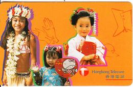 HONG KONG - Children, HKT Prepaid Card $70, Used - Hong Kong