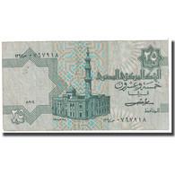 Billet, Égypte, 25 Piastres, KM:54, TB - Egypte