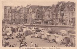 "MIDDELKERKE  Acp écrite  Edit ALBERT Nr 58  "" Strand En Zeedijk ""     Voir Scans - Middelkerke"