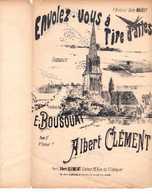 CAF CONC HIRONDELLES ROMANCE PARTITION ENVOLEZ-VOUS À TIRE D'AILES BOUSQUAT CLÉMENT LAURENCY MAIREY - Music & Instruments