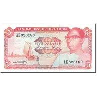 Billet, The Gambia, 5 Dalasis, KM:9b, NEUF - Gambie