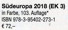 Katalog Süd-Europa MICHEL 2018 Part 3 New 72€ EUROPE Italy Fiume Jugoslavia Kosovo Kroatia Malta SM Triest Vaticano - Manuali