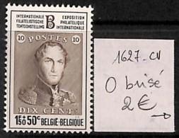 [822025]Belgique  - N° 1627CV, O Brisé, Rois - Abarten Und Kuriositäten