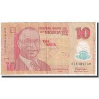 Billet, Nigéria, 10 Naira, 2015, KM:39c, TB - Nigeria