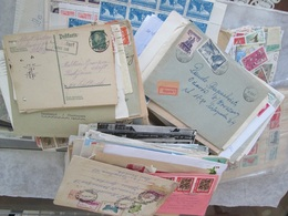 BIG LOT, 250+ COVERS, POSTCARDS AND OTHER; 3-3500+WORLDWIDE STAMPS, AND OTHER, SEE 57 PHOTOS - Mezclas (min 1000 Sellos)
