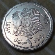 Syrie - 2 Pounds - 1996 - Km 125 - Agouz - Syrie