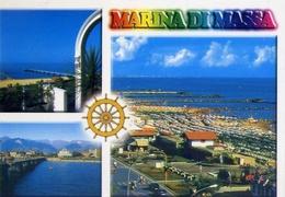Marina Di Massa - 3 - Formato Grande Viaggiata – E 8 - Massa