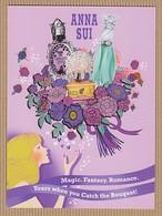 CC Carte ANNA SUI 'MAGIC FANTASY' Perfume Card KOREA - Modern (from 1961)
