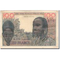 Billet, West African States, 100 Francs, KM:701Ka, TB+ - West African States