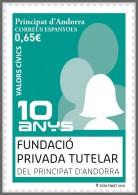 H01 Andorra 2018 Fundacio Privada Tutelar MNH ** Postfrisch - Ungebraucht