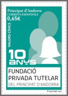 H01 Andorra 2018 Fundacio Privada Tutelar MNH ** Postfrisch - Neufs