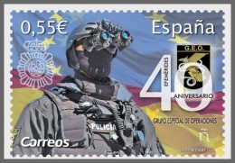 H01 Spain 2018 Special Armed Forces MNH ** Postfrisch - 1931-Today: 2nd Rep - ... Juan Carlos I
