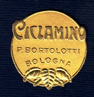 Label Brand New-etichetta Nuova-eitquette Neuf- Ciclamino, Pietro Bortolotti, Bologna. First 900's Max Diam. 28mm. - Etiquettes