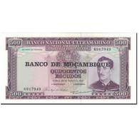 Billet, Mozambique, 500 Escudos, 1967-03-22, KM:118a, NEUF - Mozambique