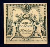 Label Brand New-etichetta Nuova-eitquette Neuf- Acqua Di Colonia, Pietro Bortolotti, Bologna. First 900's 55mm X 52mm. - Etichette
