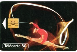 France Telecarte Telecard Phonecard Publique F508 Sport Grs Solo Gymnastique Femme Ut BE - 1993