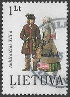 Lithuania SG586 1995 Costumes Of The Aukštaičiai 1l Good/fine Used [38/31520/6D] - Lithuania