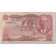 Billet, Malawi, 1 Kwacha, 1973, KM:10a, B - Malawi