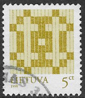 Lithuania SG651 1998 Definitive 5c Good/fine Used [38/31522/6D] - Lithuania