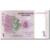 Billet, Congo Democratic Republic, 1 Centime, 1997-11-01, KM:80a, NEUF - Congo