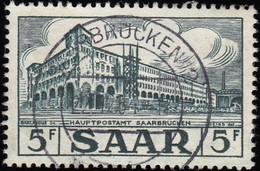 SAAR - Scott #236 General Post Office / Used Stamp - 1947-56 Protectorate