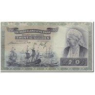 Billet, Pays-Bas, 20 Gulden, 1941-03-19, KM:54, TTB+ - [2] 1815-… : Regno Dei Paesi Bassi
