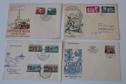 DDR FDC - Lot Aus 1953-59, über Weite Strecken Komplett, Ex. # 380-745, .....920.- € ....185 (G) - Briefmarken