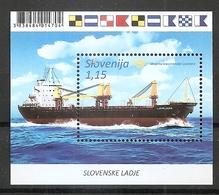 SLOVENIA 2018,SHIP LJUBLJANA,SCHIFFE,,MNH - Barche
