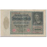 Billet, Allemagne, 10,000 Mark, 1922-01-19, KM:71, TTB - [ 3] 1918-1933: Weimarrepubliek