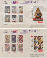 Indonesia 2012 2x M/S, MNH**, Low Starting Price - Indonesia