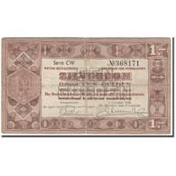 Billet, Pays-Bas, 1 Gulden, 1938-10-01, KM:61, TB - [2] 1815-… : Kingdom Of The Netherlands