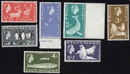 South Georgia.  1963 Fauna. MNH - South Georgia