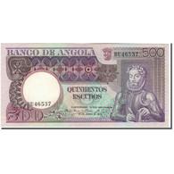 Billet, Angola, 500 Escudos, 1973-06-10, KM:107, SUP - Angola