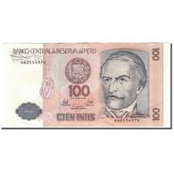 Billet, Pérou, 100 Intis, 1987-06-26, KM:133, SUP+ - Pérou