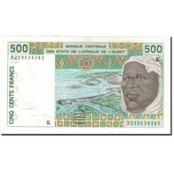 Billet, West African States, 500 Francs, KM:710Kb, SUP - Westafrikanischer Staaten
