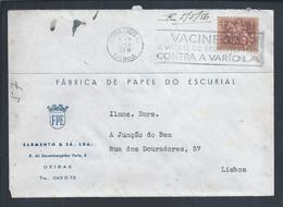 Smallpox.Impfstoff Variola.'Vaccinate And Vaccinate Your Children Against Smallpox'.Streamer Of 1956.Edward Jenner.Rare - Medicina