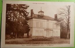 SAINT-GERMAIN (Aube) - 10 - Le Chateau Paysage D'Automne - France