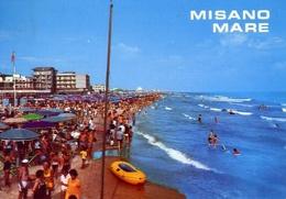 Misano Mare - La Spiaggia - Formato Grande Viaggiata – E 8 - Rimini