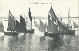 50 CPA CARTERET Bateaux De Pêche - Carteret